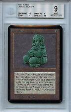 MTG Alpha Jade Statue BGS 9.0 (9) Mint Card Magic The Gathering WOTC 7555