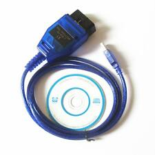 VAGCOM USB KKL Cable For AUDI Volkswagen OBD2 OBDII Car Diagnostic Scanner UP