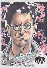 EGON SPENGLER COLOR 1/1 2016 Ghostbusters Cryptozoic Sketch By MATT STEWART
