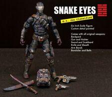 gi joe classified snake eyes 6 inch custom