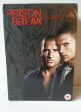 Prison Break - The Complete Series Season 1-4 DVD - Copy Protected - Boxed - VGC