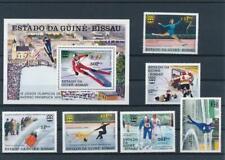 [G356494] Guinea-Bissau 1976 Olympics good sheet set of stamps VF MNH