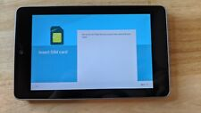 ASUS GOOGLE NEXUS 7 TABLET 32GB 4G SIM DATA + WIFI BLACK 1G AMAZING CONDITION