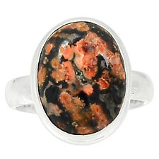 Leopard Skin 925 Sterling Silver Ring Jewelry S.8 LPDR171