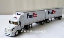 1:64 VOLVO FEDEX Container transport trailer Die Cast Model