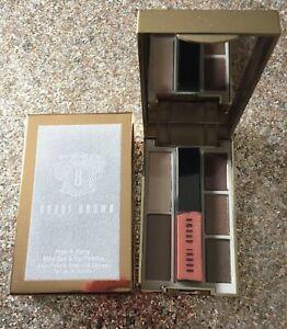 BOBBI BROWN Pret-A-Party Mini Eye & Lip Palette Ivory/ Cement