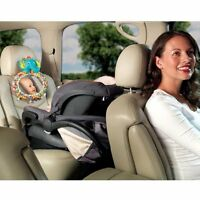 Bright Starts See and Play Auto Mirror with fun characters,helps mom to see baby