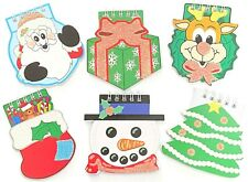 6 x Christmas Xmas Notepads Novelty Stocking Fillers Gift Present Wrap Up
