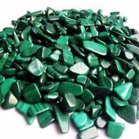 100g Natural Tumbled Malachite Stones Gemstones Reiki Polished Healing