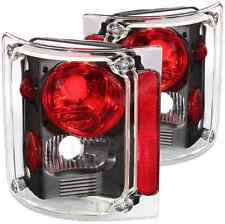 ANZO 211016 Set of 2 Black Tail Lights for C/K Pickup/Suburban/Blazer/Jimmy
