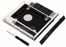 Universal 2nd HDD SSD Hard Drive Caddy Frame for 12.7mm SATA Optical Drive DVD
