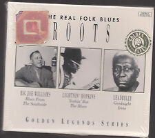 The Real Folk Blues Roots Big Joe Williams Lightin Hopkins Leadbelly