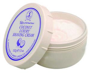 5.3oz Coconut Shaving Cream Coconut Taylor of old Bond Street