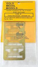 N Scale Fancy Fire Escape Brass Kit (Extender Set) - Gold Medal Models #160-6