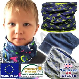 Boy girl baby toddler autumn spring Scarf Snood Warm Cotton colour UK