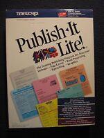 "Publish It Lite! [5 1/4"" Disks] {MS-DOS 2.1 or Higher}"