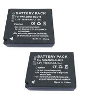 2X DMW-BLG10 Battery For Panasonic DMC-TZ80 DMC-TZ100 DMC-LX100 DMC-GF6 DMC-GX7