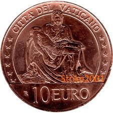 NEW !!! 10 EURO FDC VATICANO 2020 in Rame - Arte e Fede: La Pietà NEW !!!