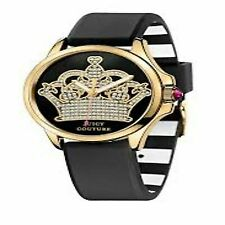 Juicy Couture Women's 1901142 Jetsetter Crown Dial Black Watch