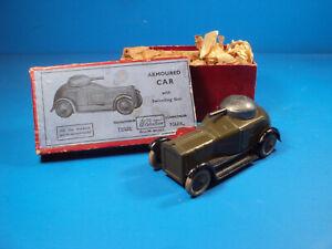 Nice Britains Army Armoured Car # 1321 W/ Original Box