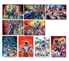 JUMP Official Fist of the North Star Illustration Poster set of 9 A3 size Japan