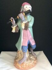 "Large 13.25"" Monkey Flute Figurine- Mint Condition"