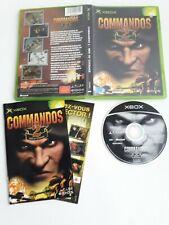COMMANDOS 2 MEN OF COURAGE PL FRA XBOX COMPLET TBE