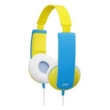 JVC Ha-kd5-y Yellow Tiny Kids Stereo Low Volume Headphones Earphones HAKD5Y