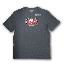 San Francisco 49ers Men's Majestic NFL Heather Gray Short Sleeve