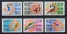 27348) GUINEA 1983 MNH** Nuovi** Olympic Games Saraievo 6v