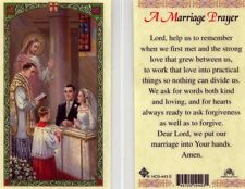 A Marriage Prayer Card Lord Help Us Remember When We Met Laminated HC9-443E
