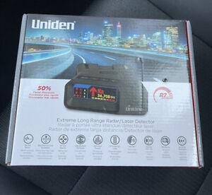 NEW Uniden R7 EXTREME LONG RANGE Laser/Radar Detector Built-in GPS w Real-Time
