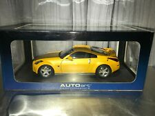 SUPER RARE 1:18 AutoArt NISSAN Fairlady 350Z Nismo S-Tune Version RHD Yellow