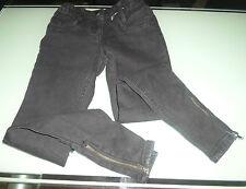 Jeans taglio dritto George Ragazze 8-9 anni Nero