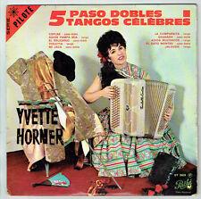 33T 25cm Yvette HORNER Disque 5 PASO DOBLES TANGOS Musette PATHE 26024 RARE