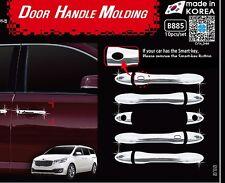 Chrome Door Handle Molding 10EA 1SET Kia Sedona Carnival 2014 2017