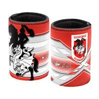 ST George Dragons NRL TEAM Beer Can Bottle Cooler Stubby Holder Cosy Bar Gift
