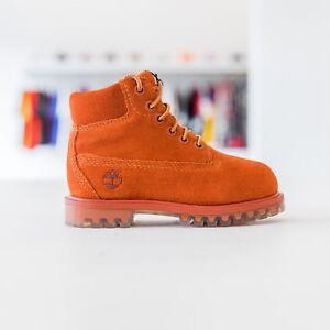 Timberland Toddlers 6-in Premium Waterproof Boots - Rust Nubuck