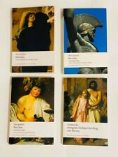 Greek Mythology Books - Oresteia, Persians, Bacchae, and Antigone
