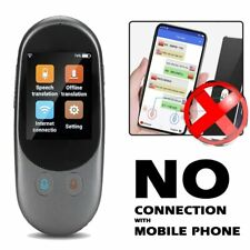 Portable Offline Online Voice Mini Pocket Real Time Multi Languages Translator
