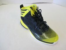 NEW Men's adidas Crazy Fast Basketball Shoes - Black/Yellow (Size 9)