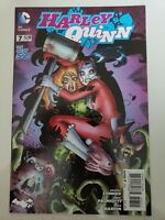 HARLEY QUINN #7 (2014) DC 52 COMICS 1ST PRINT! AMANDA CONNER! PALMIOTTI! HARDIN