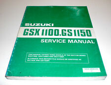 Werkstatthandbuch Wartungsanleitung SUZUKI GSX1100 GS1150