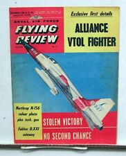 Sept 1962 ROYAL AIR FORCE FLYING REVIEW Magazine