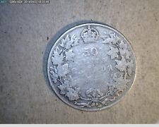 1918 Canada, Half, Medium Grade  Silver  (Can-327)