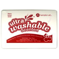 Hampton Art Ultra Washable Scented Cherry Red Stamp Pad  - Cherry Red