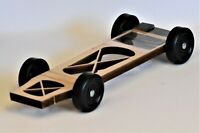 Winning Fast Pinewood Derby Kit Xbody & TxW Alloy Bars + tune weights over 4.1oz