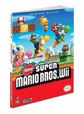 New Super Mario Bros (Wii) : Prima Official Game Guide GOOD Condition paperback