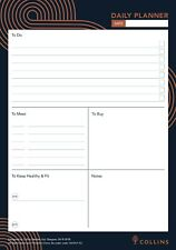 Daily Desk Pad Planner Contains 60 Sheets Daily View - A5 Daily Planner Vanguard