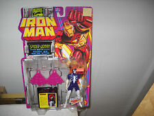 Iron Man Action Figure-Spider-Women vf/nm on Card